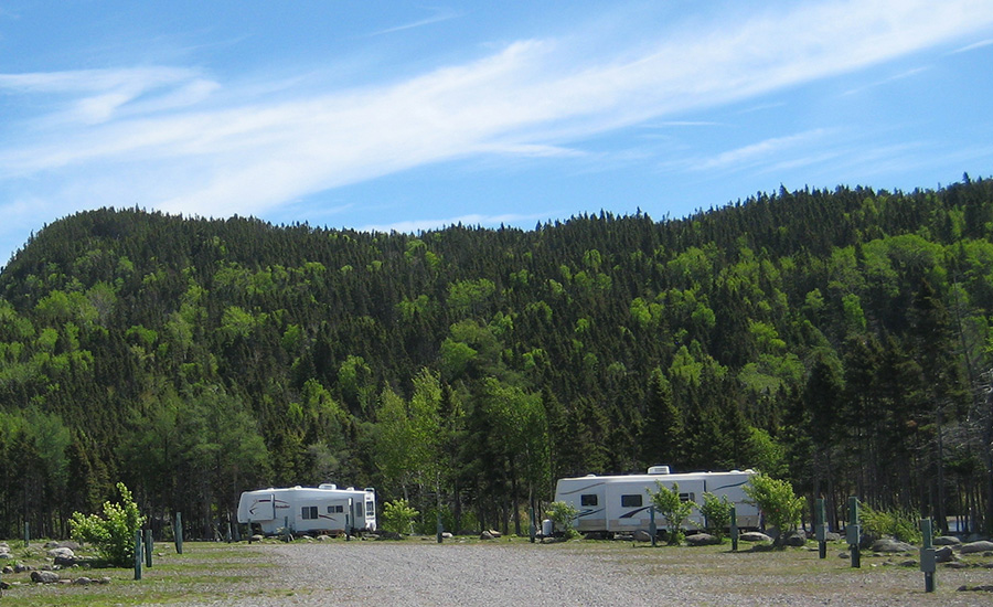 Princehaven Camping Scenery