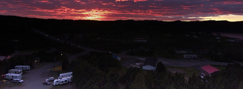 Princehaven Campground Sunset