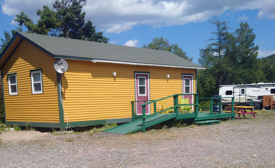 Princehaven Campground Cabin